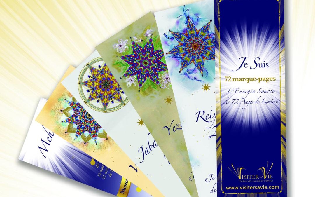 NOUVEAUTE : Nouvelle publication et création des Editions Visiter sa Vie sur l'Energie Source des 72 anges de Lumière