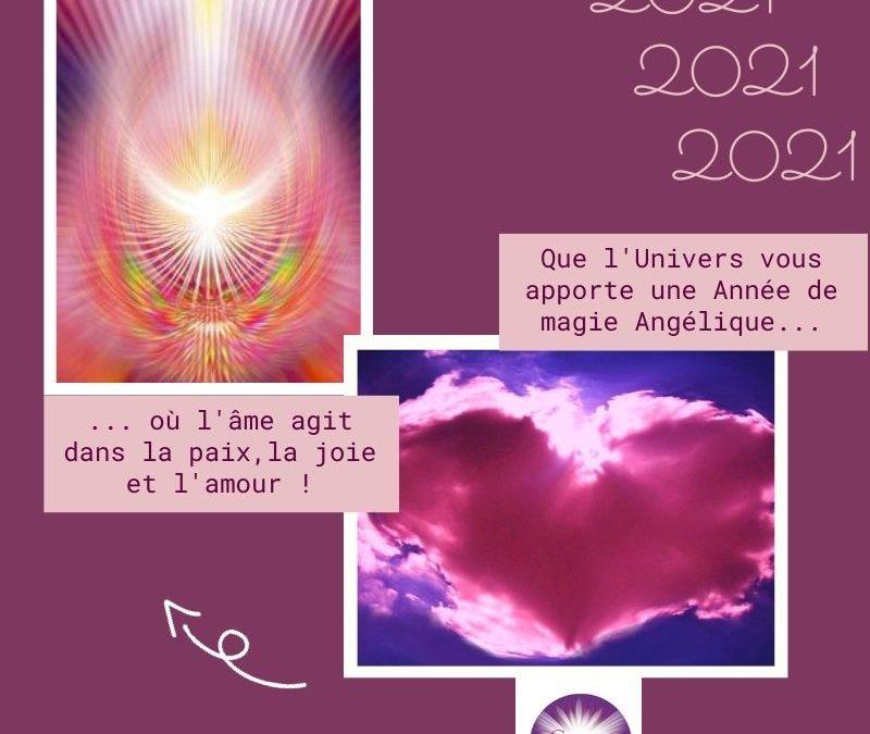 Que 2021 soit une année magique pour votre âme !!